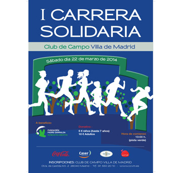 I carrera solidaria Club de Campo Villa de Madrid