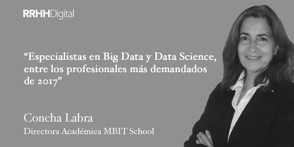 Especialistas en Big Data y Data Science, entre los profesionales más demandados de 2017