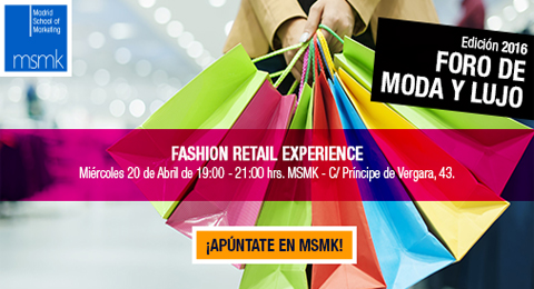 Foro de moda de lujo 'Fashion Retail Experience' en Madrid School of Marketing