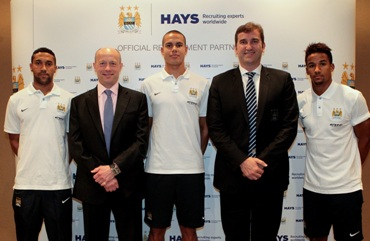 HAYS firma como socio oficial del Manchester City Football Club