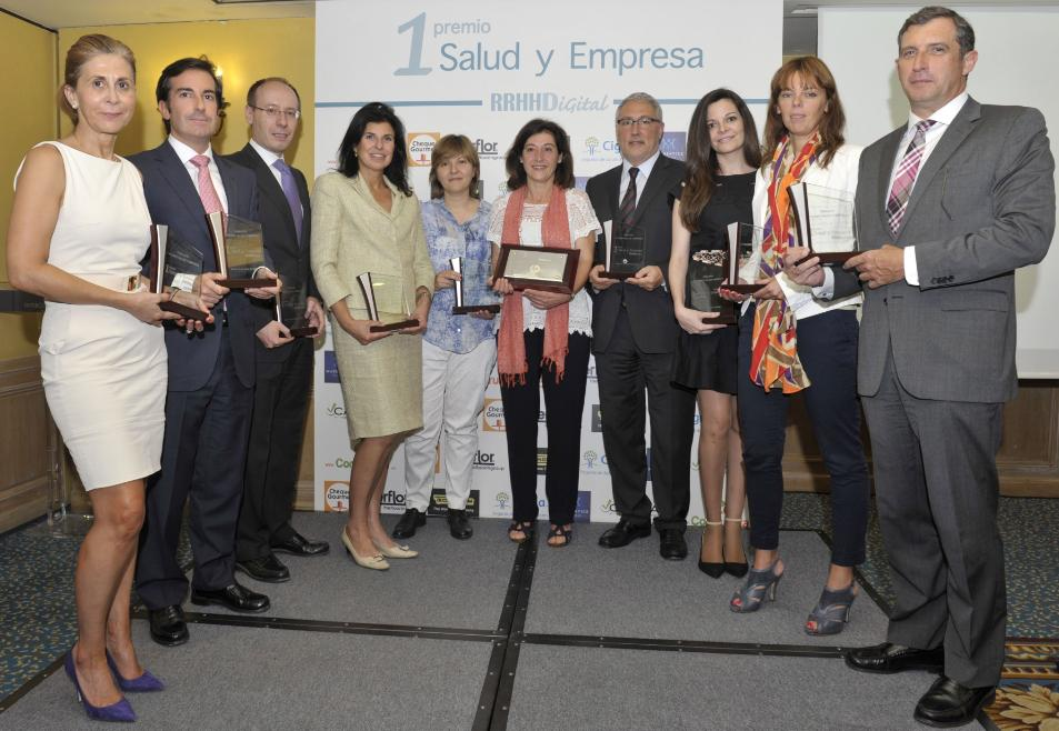 Video del I Premio Salud y Empresa de RRHH Digital